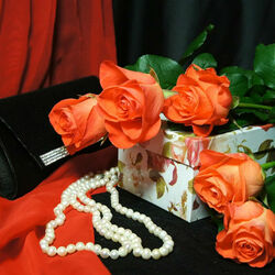 Jigsaw puzzle: Still life with roses