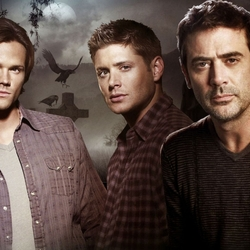 Jigsaw puzzle: John, Dean and Sam