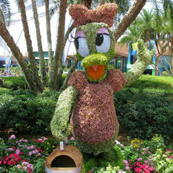 Jigsaw puzzle: Flower cartoons from Disneyland