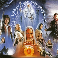 Jigsaw puzzle: Lord of the Rings
