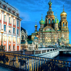 Jigsaw puzzle: Church of the Resurrection of Christ in St. Petersburg (Savior on Blood)