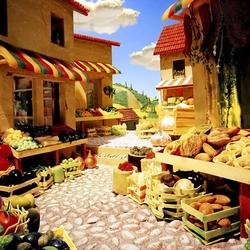 Jigsaw puzzle: Edible Landscapes by Karl Warner