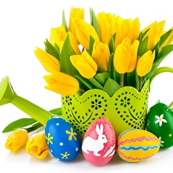 Jigsaw puzzle: Happy Easter!