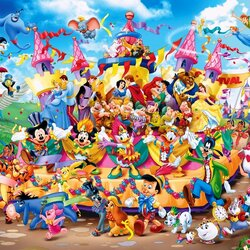 Jigsaw puzzle: Walt Disney Characters