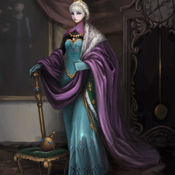 Jigsaw puzzle: Elsa - Queen of Arendelle