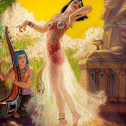 Jigsaw puzzle: Egyptian dance