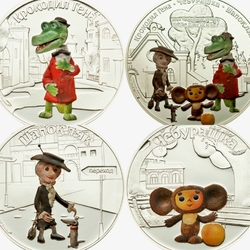 Jigsaw puzzle: Cheburashka and Crocodile Gena