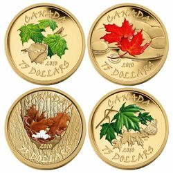 Jigsaw puzzle: Set of coins of Canada