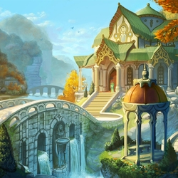 Jigsaw puzzle: Rivendell