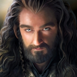 Jigsaw puzzle: Thorin Oakenshield