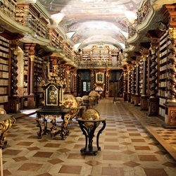 Jigsaw puzzle: Library at Clementinum