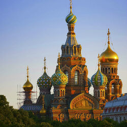 Jigsaw puzzle: Church of the Savior on Spilled Blood