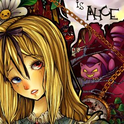 Jigsaw puzzle: My name is Alice