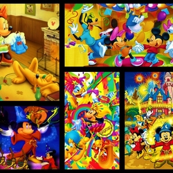 Jigsaw puzzle: Mickey Mouse and more
