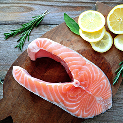 Jigsaw puzzle: Salmon steak