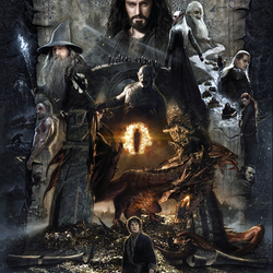 Jigsaw puzzle: The Hobbit: The Desolation of Smaug