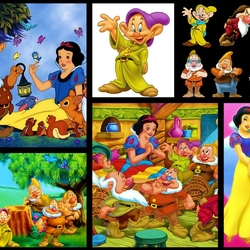 Jigsaw puzzle: Snow White and the Seven Dwarfs