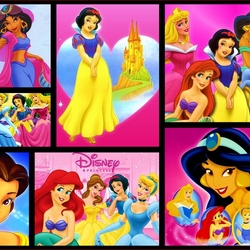 Jigsaw puzzle: Disney princesses