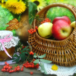 Jigsaw puzzle: Apples for jam