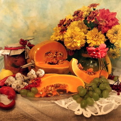 Jigsaw puzzle: Bright autumn