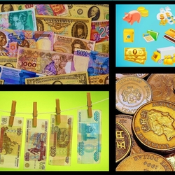 Jigsaw puzzle: Money