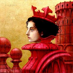 Jigsaw puzzle: Red Queen