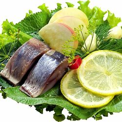 Jigsaw puzzle: Herring with herbs