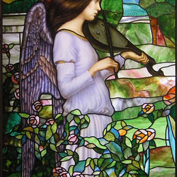 Jigsaw puzzle: Angel with a lute