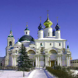 Jigsaw puzzle: Temple in Russia