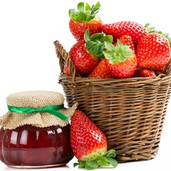 Jigsaw puzzle: Strawberries for jam