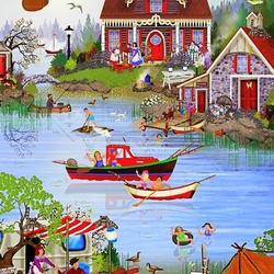 Jigsaw puzzle: Summer Cottage / Cottage