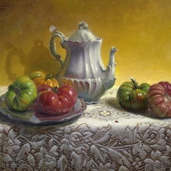 Jigsaw puzzle: Still life with tomatoes
