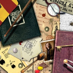 Jigsaw puzzle: Personal belongings of the wizard