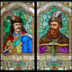 Jigsaw puzzle: Portraits of the Transylvanian Princes