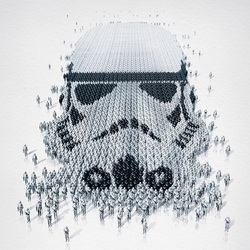 Jigsaw puzzle: Imperial stormtrooper