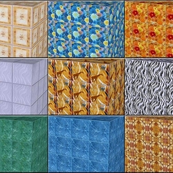 Jigsaw puzzle: Cubic drawing