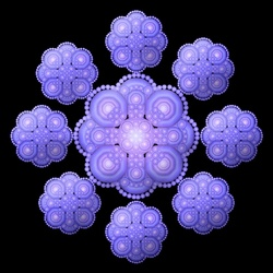 Jigsaw puzzle: Snowflake