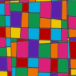 Jigsaw puzzle: Stained glass mosaic