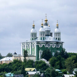 Jigsaw puzzle: Church of the Icon of the Mother of God in Smolensk