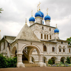 Jigsaw puzzle: Church of the Kazan Icon