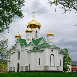 Jigsaw puzzle: Church of the Icon of the Mother of God