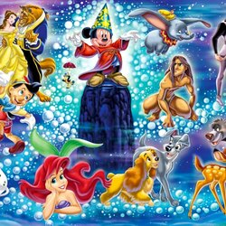Jigsaw puzzle: Cartoon characters