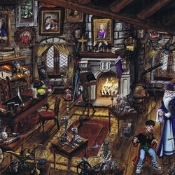 Jigsaw puzzle: Professor Dumbledore's office