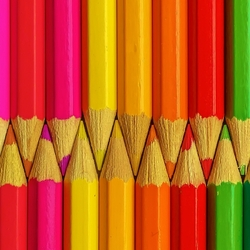 Jigsaw puzzle: The pencils
