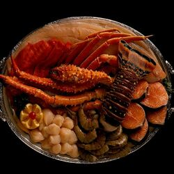 Jigsaw puzzle: Seafood delicacies