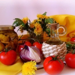 Jigsaw puzzle: Home canning