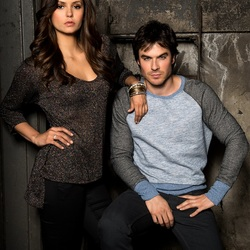 Jigsaw puzzle: Ian Somerhalder and Nina Dobrev