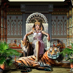 Jigsaw puzzle: Queen of egypt
