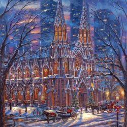 Jigsaw puzzle: St. Patrick's Cathedral in New York