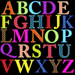 Jigsaw puzzle: English alphabet